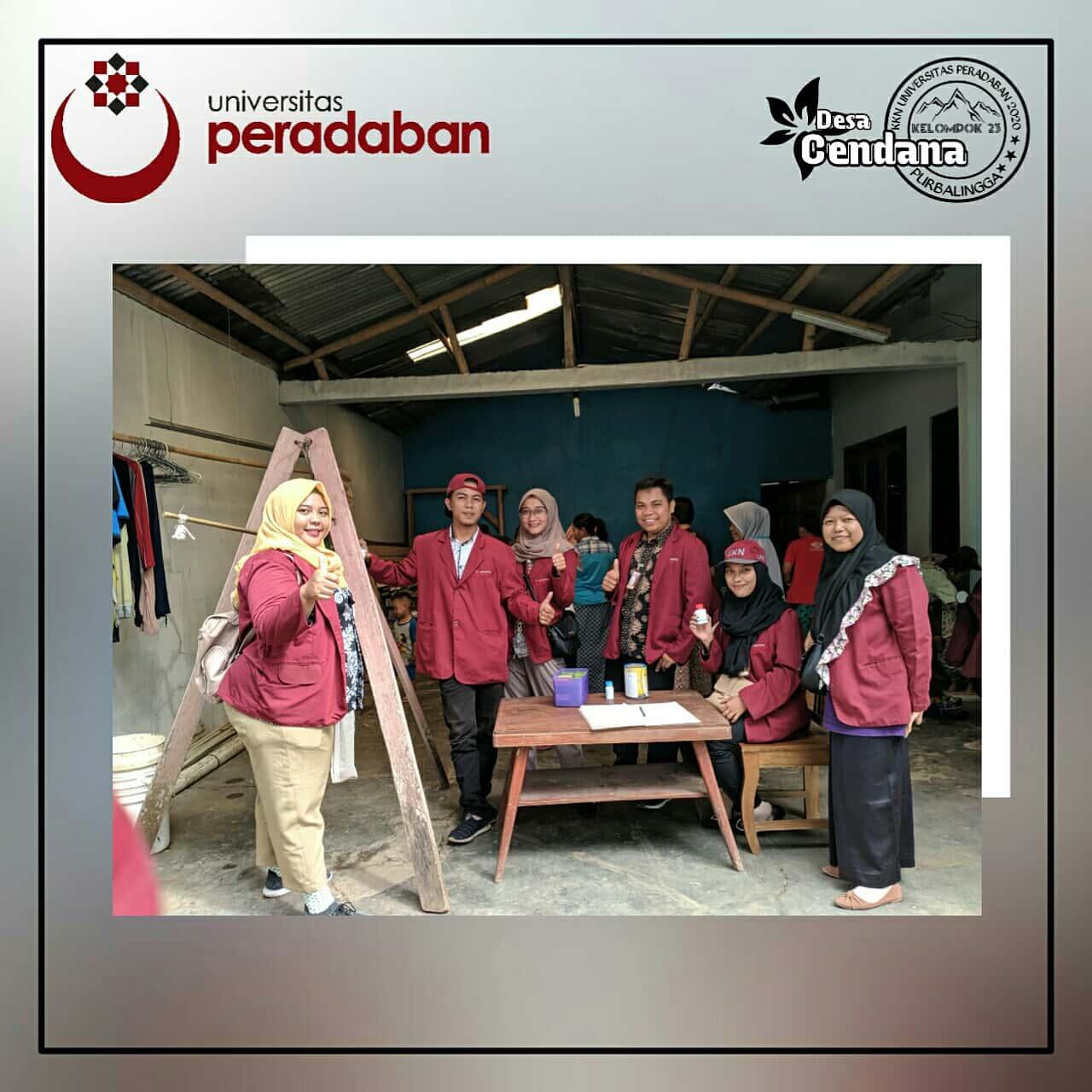 Hari ke 7 KKN Desa Cendana Universitas Peradaban
