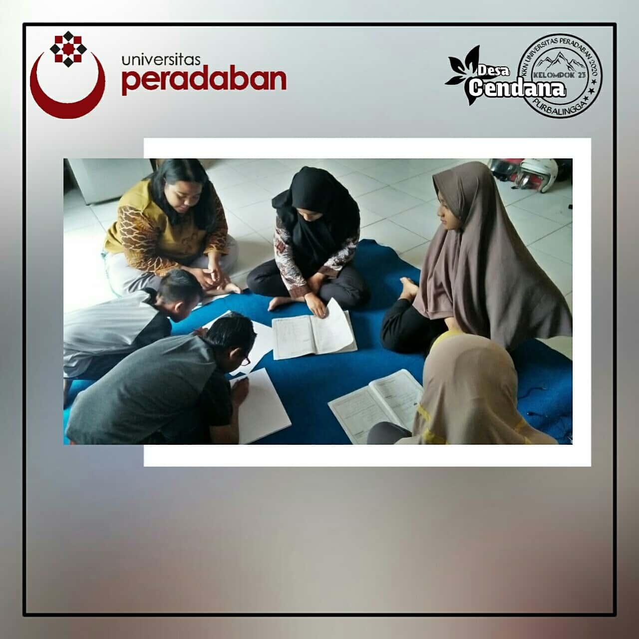 Hari ke 8 KKN Desa Cendana Universitas Peradaban