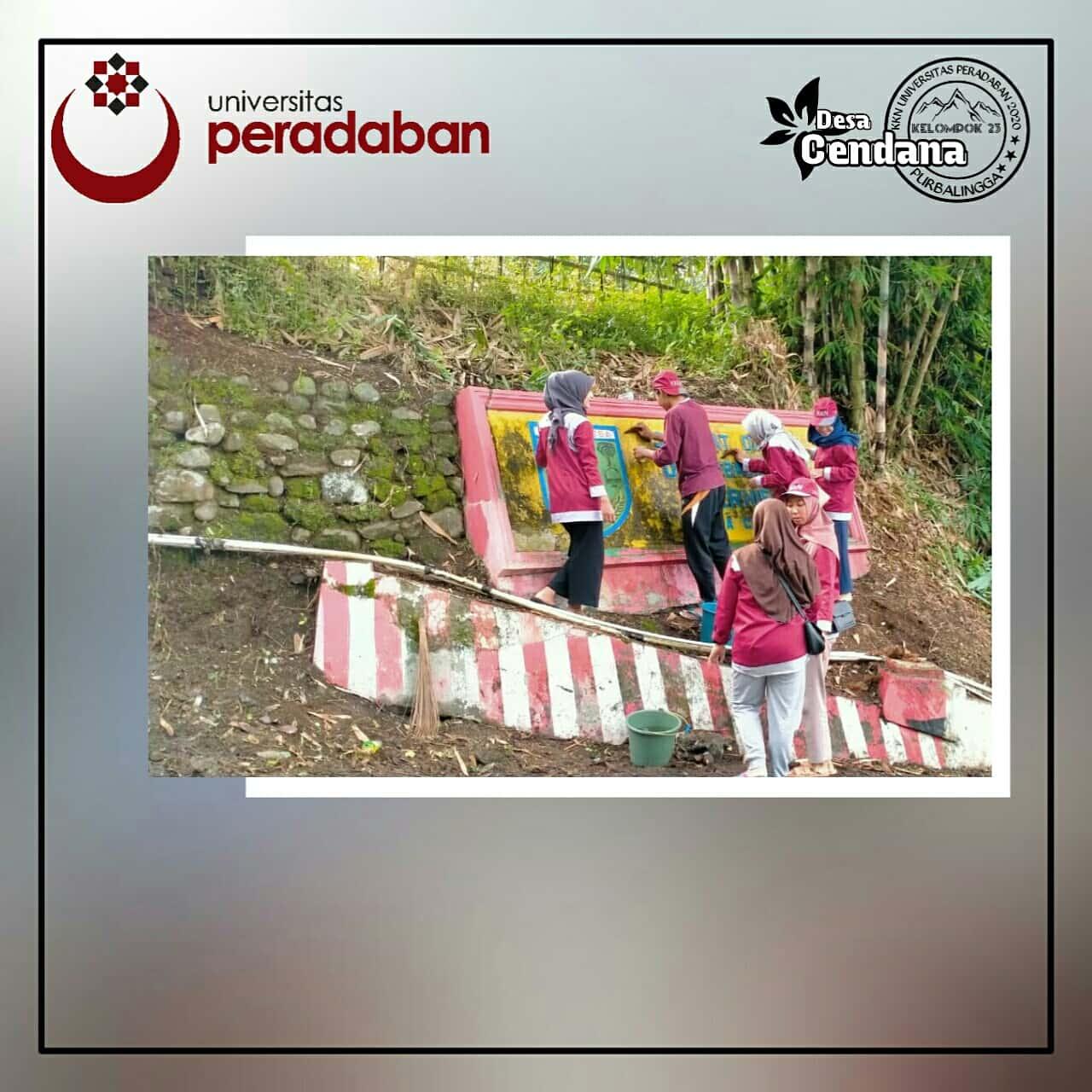 Hari ke 11 KKN Desa Cendana Universitas Peradaban